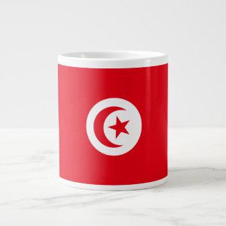 Tunisia Flag Giant Coffee Mug
