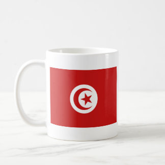 Tunisia Flag ~ Map Mug