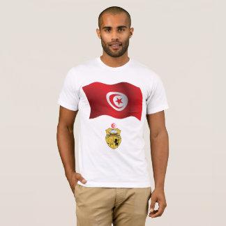 Tunisia Flag Mens T-Shirt