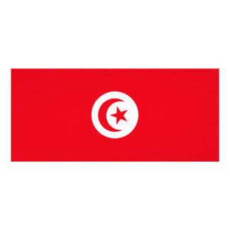 Tunisia Flag Rack Card