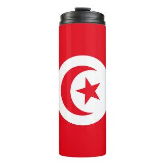 Tunisia Flag Thermal Tumbler