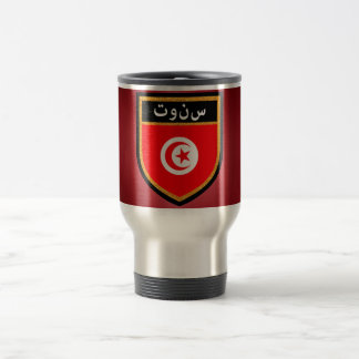 Tunisia Flag Travel Mug