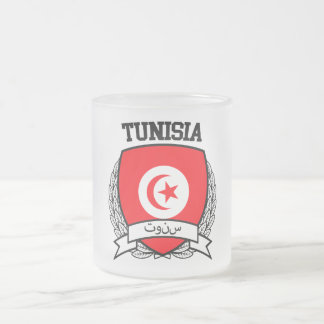 Tunisia Frosted Glass Coffee Mug