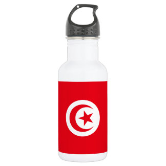 Tunisia National World Flag 532 Ml Water Bottle