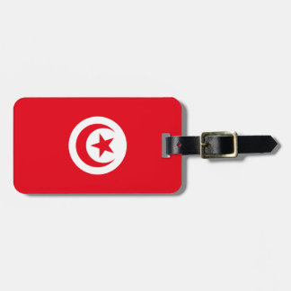 Tunisia National World Flag Luggage Tag