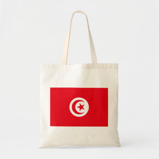 Tunisia National World Flag Tote Bag