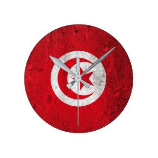 Tunisia Round Clock