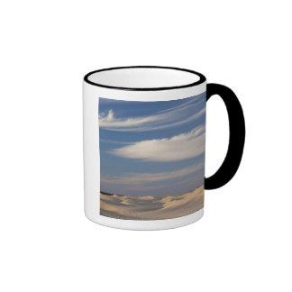 Tunisia, Sahara Desert, Douz, Great Dune, dusk 2 Ringer Mug