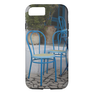 Tunisia, Sidi Bou Said, cafe chairs iPhone 7 Case