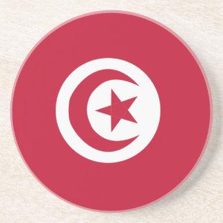 Tunisian flag coaster