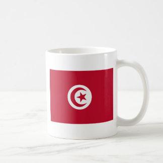 Tunisian flag coffee mug