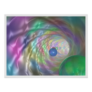 Tunnel of Colors Poster