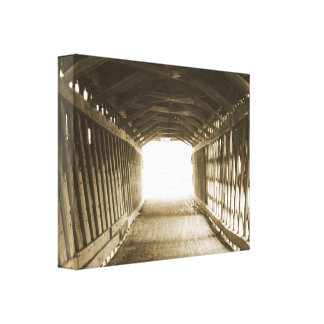Tunnel of Light Gallery Wrap Canvas
