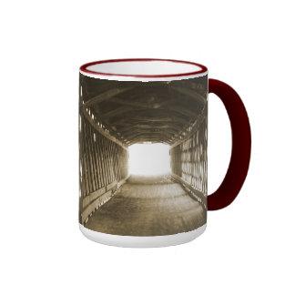 Tunnel of Light Coffee Mugs