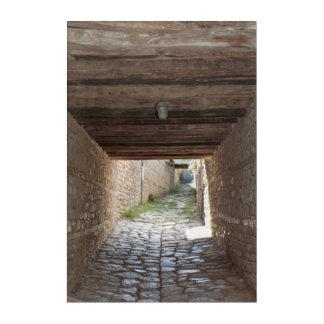 Tunnel Through Alley, Lahic Acrylic Print