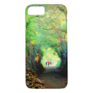 Tunnel Trees on the Camino iPhone 8/7 Case