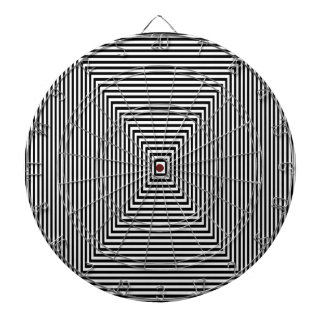 Tunnel view dartboard