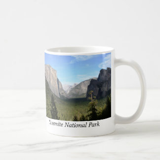 Tunnel view, Yosemite National Park Coffee Mug