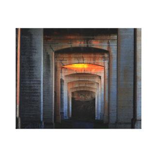 Tunnell Canvas Print