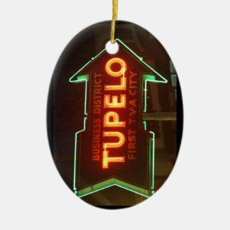 Tupelo Christmas Ornament