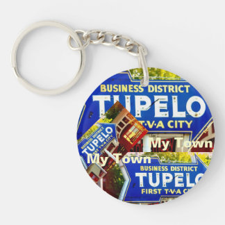 Tupelo, Mississippi - My Town! Key Ring