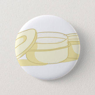 Tupperware 6 Cm Round Badge