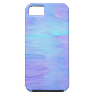 Tuquoise and Lavendar Watercolor iPhone 5 Case