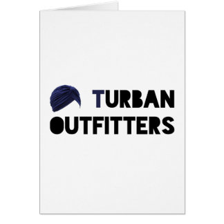 Turban Outfitters Card
