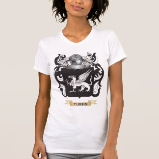 Turbin Family Crest (Coat of Arms) Tees