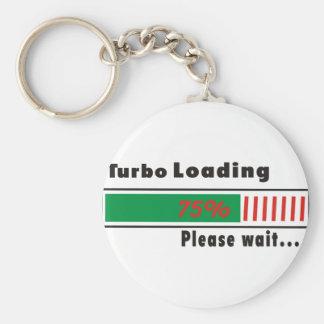 Turbo Loading Please wait Key Chain