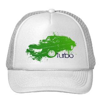 turbo sedan splatter paint -lime cap