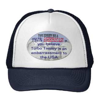 turbo timmy usa mesh hats