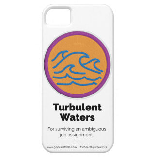 Turbulent Waters Merit Badge Phone Case