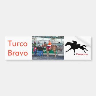 Turco Bravo and Javier Bumper Sticker