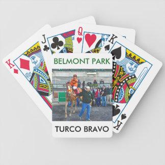 Turco Bravo & Javier Castellano Bicycle Playing Cards