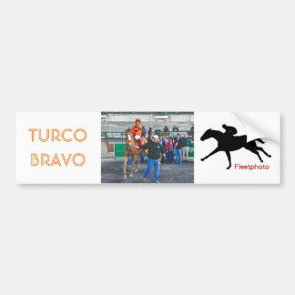 Turco Bravo & Javier Castellano Bumper Sticker