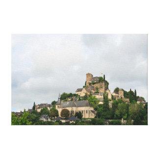 Turenne village in France Canvas Print