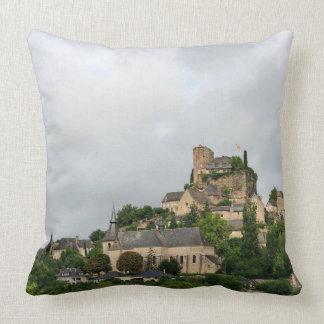Turenne village in France Cushion