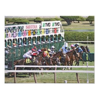 Turf Racing at the Spa Photo Print