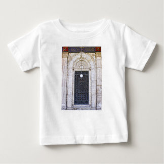 Türgitter of the Sultan Ali mosque in Cairo Baby T-Shirt