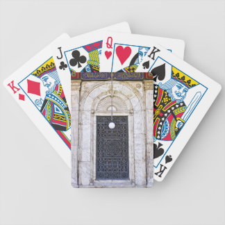Türgitter of the Sultan Ali mosque in Cairo Bicycle Playing Cards