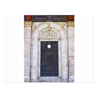Türgitter of the Sultan Ali mosque in Cairo Postcard