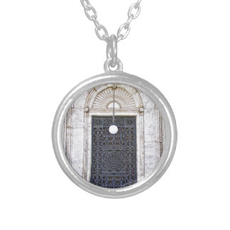 Türgitter of the Sultan Ali mosque in Cairo Silver Plated Necklace