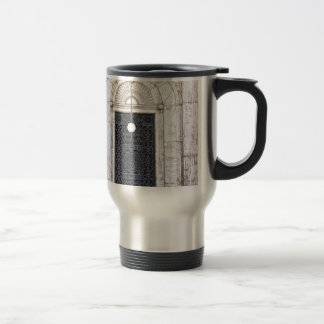 Türgitter of the Sultan Ali mosque in Cairo Travel Mug