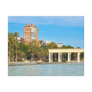 Turia gardens in Valencia, Spain Canvas Print