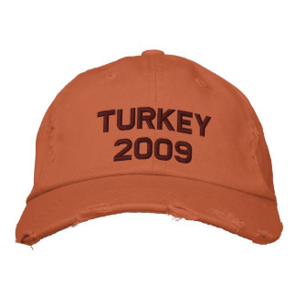Turkey - 2008 embroidered hats