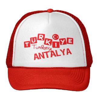 TURKEY ANTALYA hat