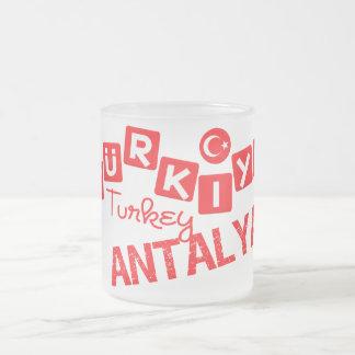 TURKEY ANTALYA mug - choose style & color