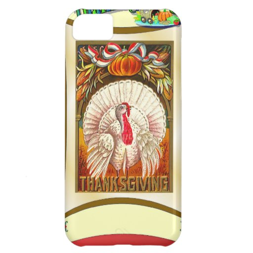 Turkey at Thanksgiving iPhone 5C Cases