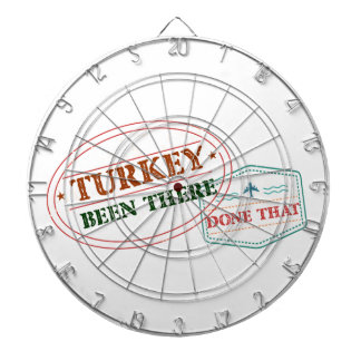Turkey Been There Done That Dartboard